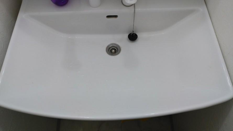 定期清掃洗面台