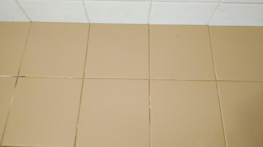 浴室クリーニング水垢