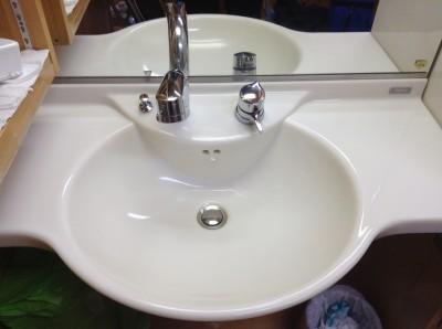 洗面台コーティング