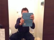 浴室鏡水あか除去