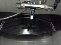 浴室のカウンターアフター
