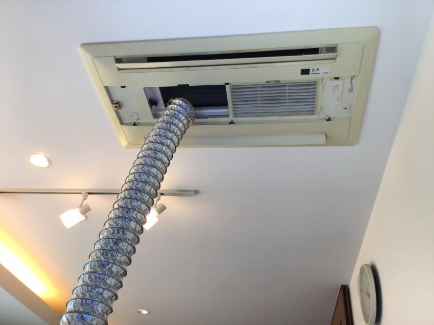 天井カセットエアコンクリーニング