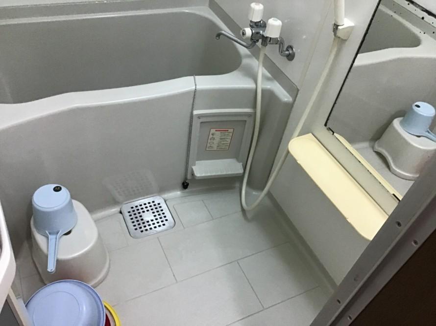 賃貸浴室クリーニング