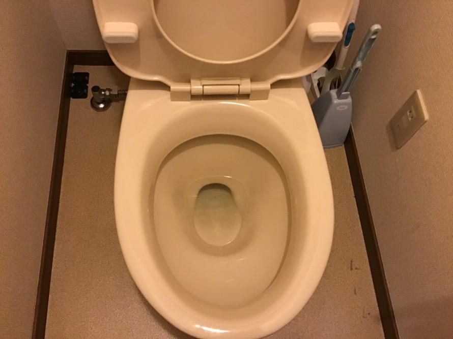 賃貸トイレクリーニング