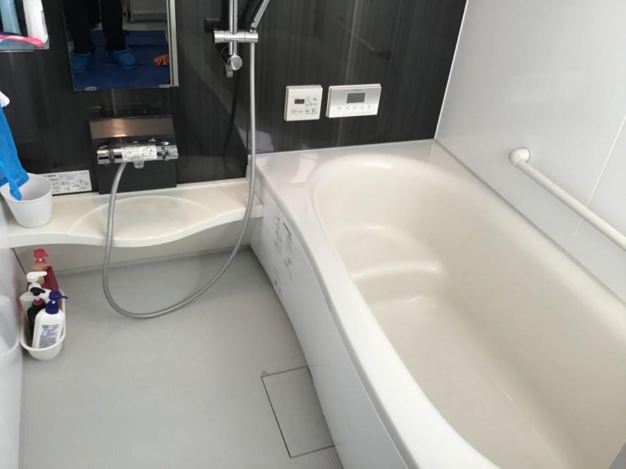 浴室水垢クリーニング