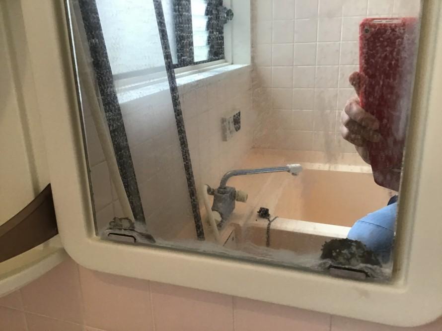浴室カガミクリーニング