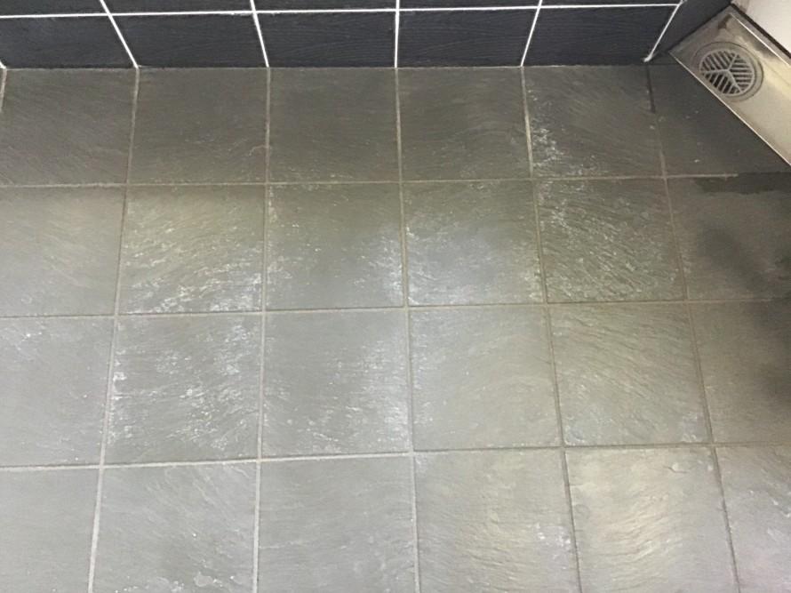 玄昌石の水垢除去