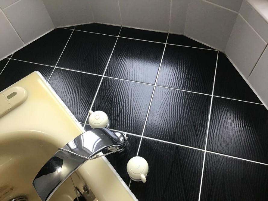 タイルの浴室クリーニング