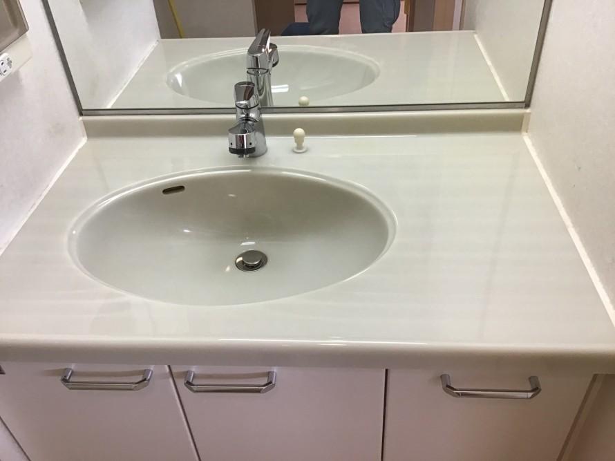 洗面台ハウスクリーニング