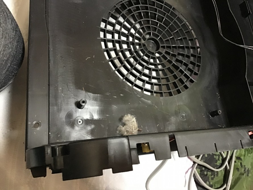 シャープ空気清浄機分解清掃オゾン除菌脱臭