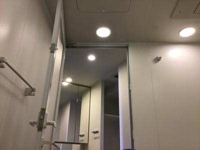 光触媒前のハウスクリーニング