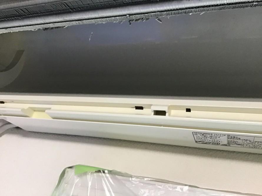 三菱フィルターおそうじ機能付きエアコンクリーニング
