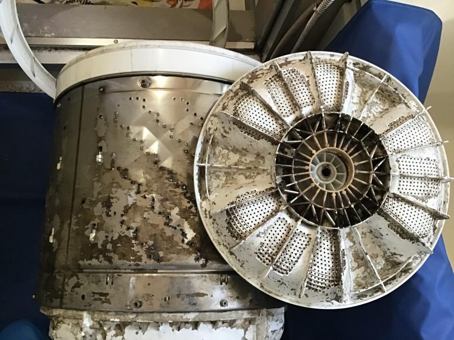 パナソニックの洗濯機クリーニング