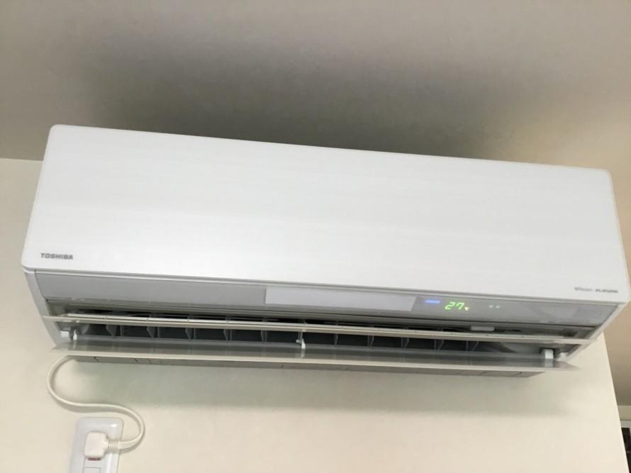 フィルターおそうじ機能付きのエアコンクリーニング