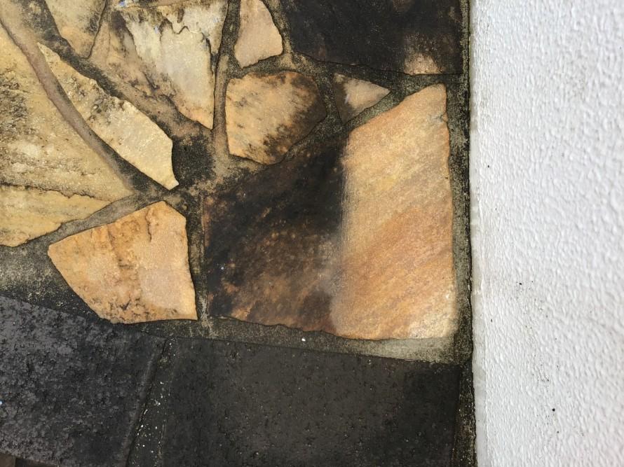 石材エントランス