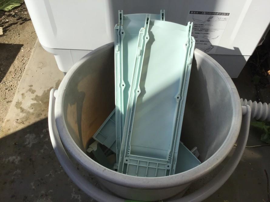 洗濯機完全分解洗浄