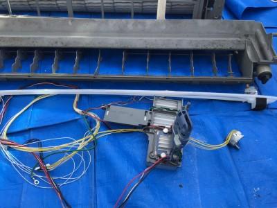 フィルターおそうじ機能付きエアコン完全分解クリーニング