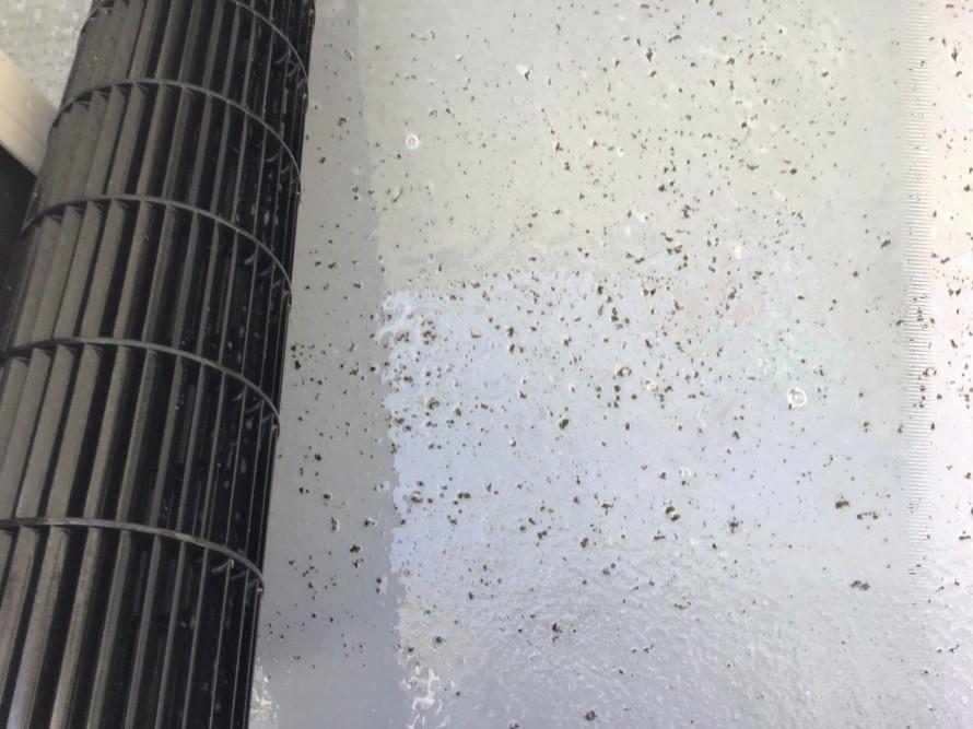 シャープおそうじ機能付きエアコンの掃除
