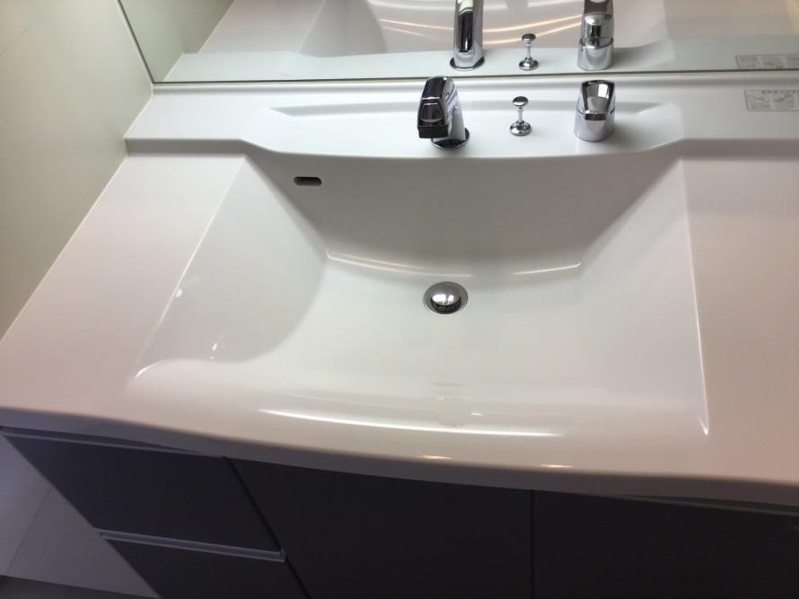 洗面台のハウスクリーニング