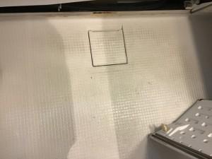 浴室クリーニング床