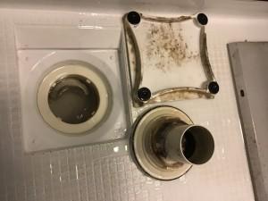 浴室クリーニング排水溝